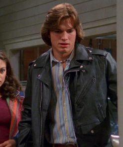 ashton-kutcher-that-70s-show-leather-jacket