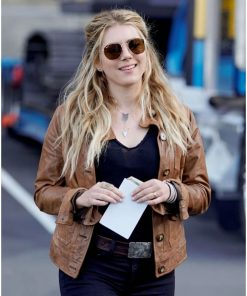 jenny-hoyt-brown-leather-jacket