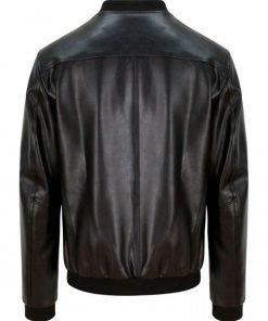 kung-fury-david-sandberg-bomber-leather-jacket