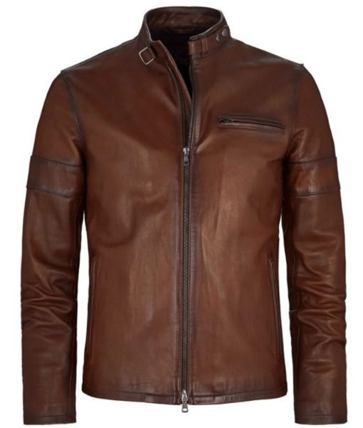 cafe-racer-brown-leather-jacket