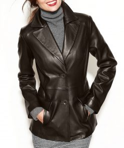 leather-blazer-women