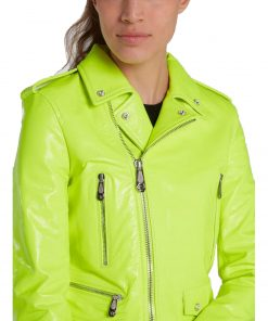 womens-neon-leather-biker-jacket