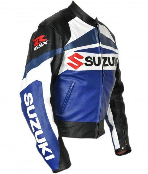 suzuki-blue-leather-jacket