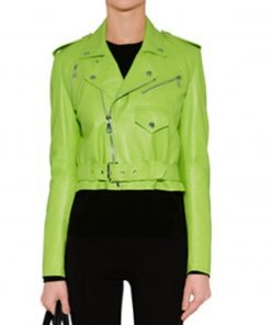 womens-lime-green-biker-leather-jacket
