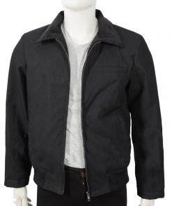 john-dutton-black-cotton-jacket