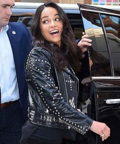 fast-and-the-furious-9-michelle-rodriguez-studded-jacket